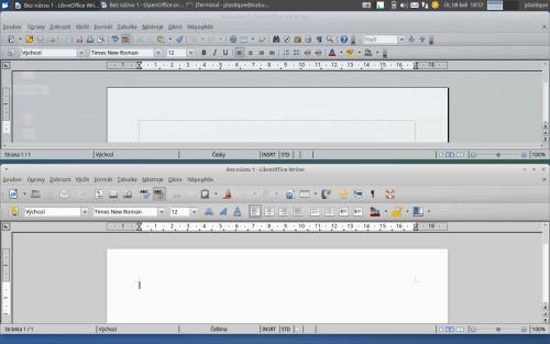 Writer v Apache OpenOffice a v LibreOffice
