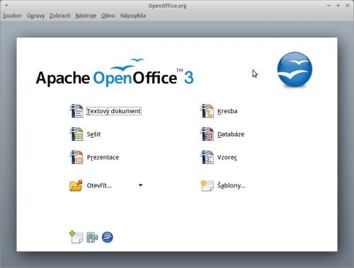 Startovací centrum Apache OpenOffice
