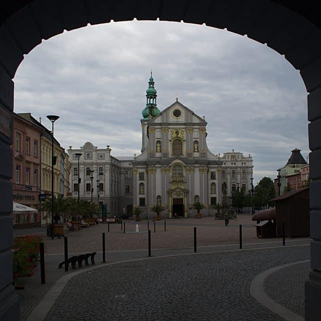 Dolní náměstí v Opavě