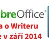 Kniha o LibreOffice Writer dopsána, odevzdána a připravuje se na vydání