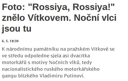"""Můžete slyšet """"rossiya""""?"""