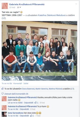 Septima 1997 na Facebooku 2015