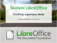 Nabízím školení LibreOffice pro firmy, školy a organizace