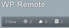WP remote - ovládání WordPressu